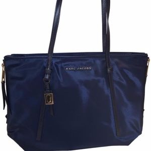 Shopping Bag Midnight Blue Nylon Tote